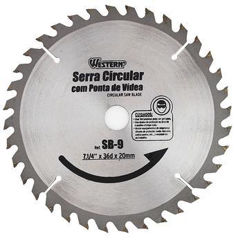 Disco de Serra Circular Western 7.1/4 x 69 x 20mm
