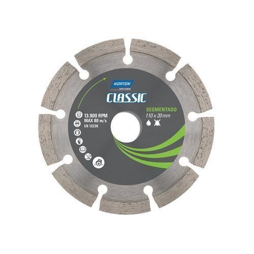 Disco Diamantado Refrigerado Segmentado Para Concreto 110 Mm - Classic