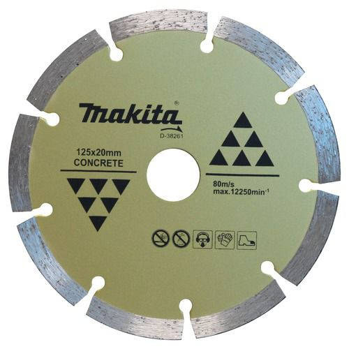 Disco Diamantado Segmentado 125 X 20 MM D - 38261 Makita