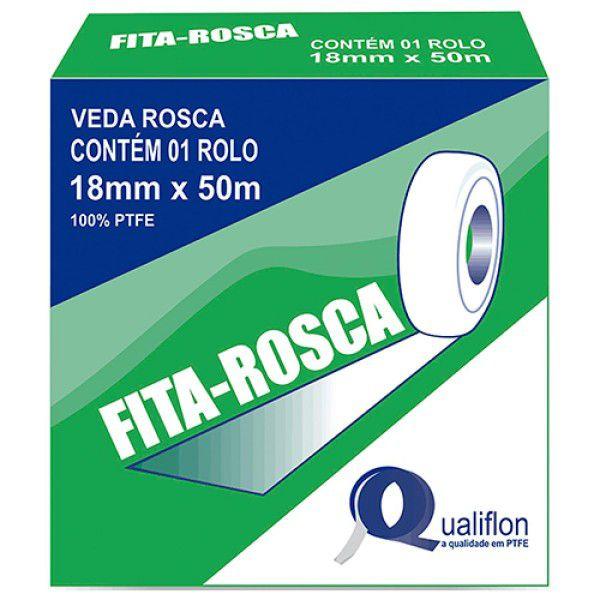 Fita Veda Rosca 18mmx50m Qualiflon
