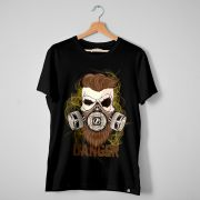 Camiseta T-Shirt Barba Forte Danger