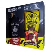 Combo Barba e Cabelo Don Juan + Beard Balm Danger Barba Forte (2 Produtos)