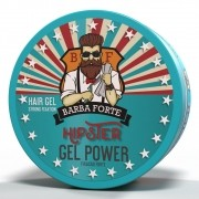 Gel Power Hipster Barba Forte  200g