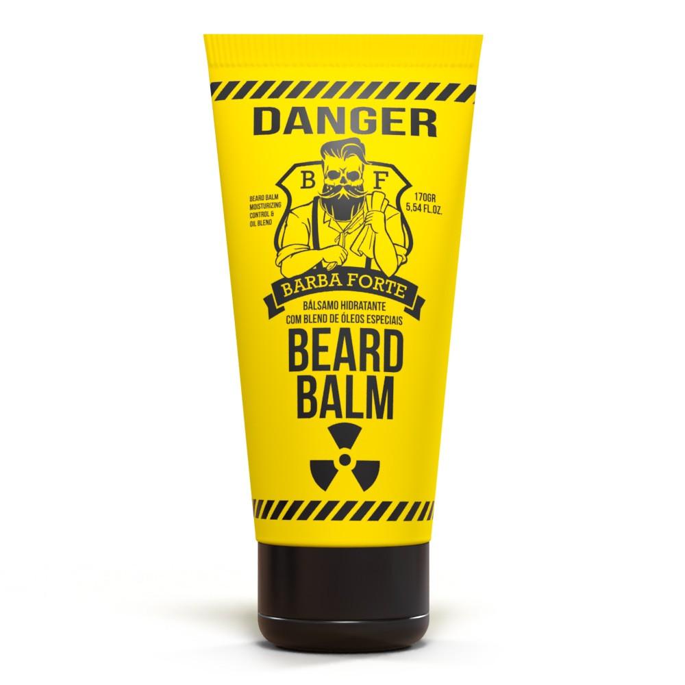 Beard Balm Bálsamo Hidratante Danger Barba Forte 170g