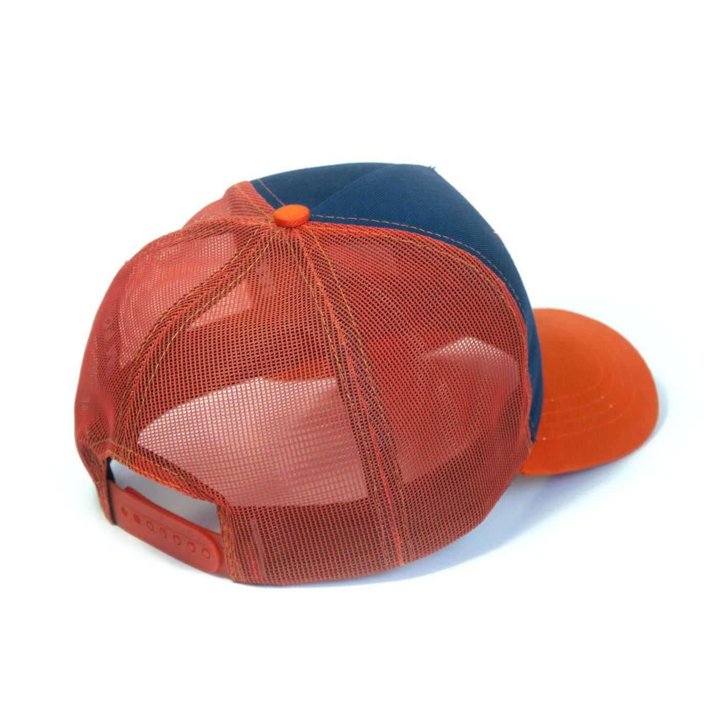 Boné Aba Curva Trucker Orange Barba Forte