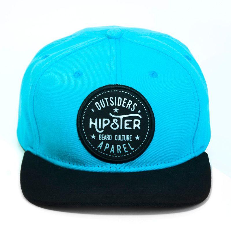Boné SnapBack Aba Reta Barba Forte Hipster