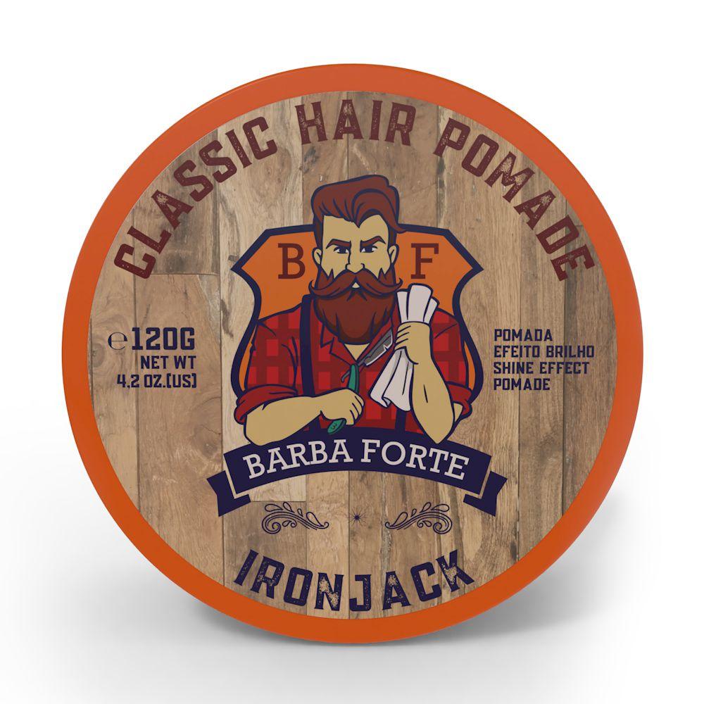 Classic Hair Pomade IronJack Barba Forte 120g