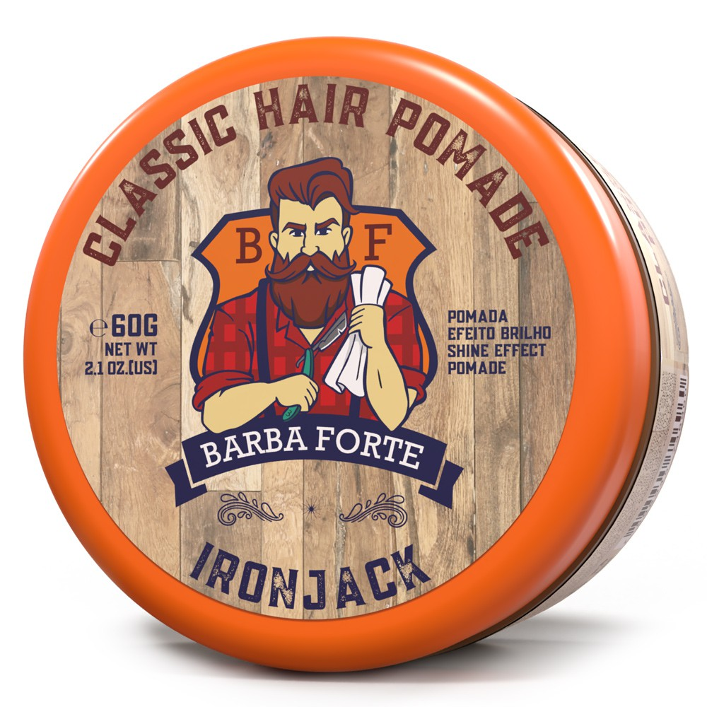 Classic Hair Pomade IronJack Barba Forte 60g