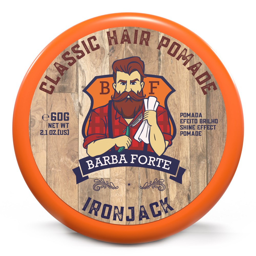 Classic Hair Pomade IronJack Barba Forte 60g