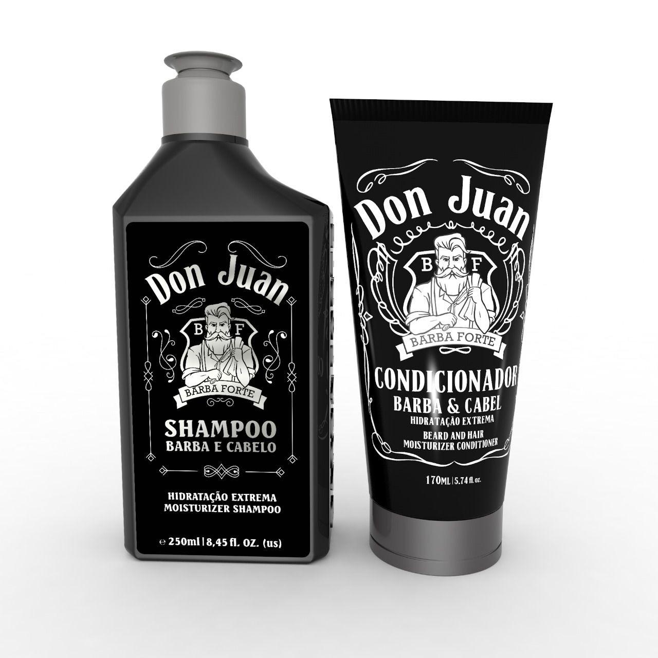 Combo Don Juan Shampoo 250ml + Condicionador 170ml