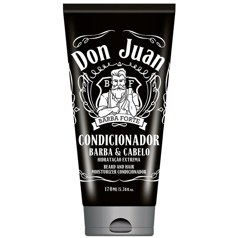 Condicionador Barba e Cabelo Don Juan Barba Forte 170ml