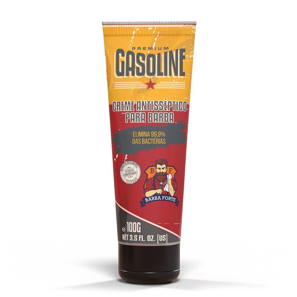 Creme Antisséptico Gasoline Barba Forte 100g