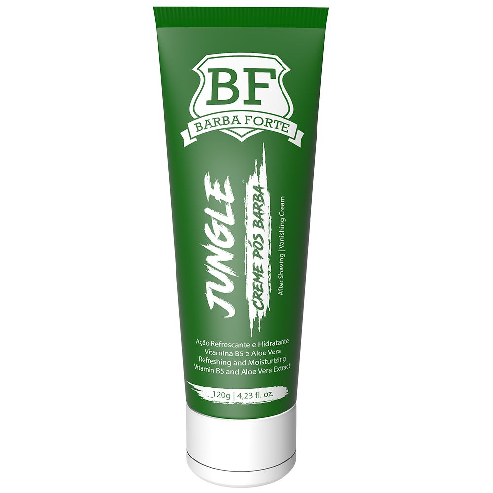 Creme Pós Barba Jungle Barba Forte 120g