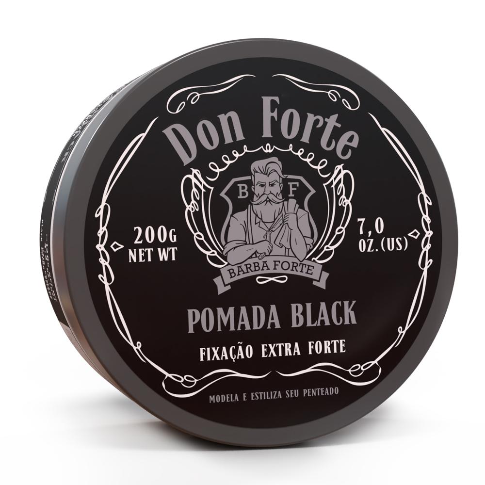 Pomada Black Don Forte Barba Forte 120g