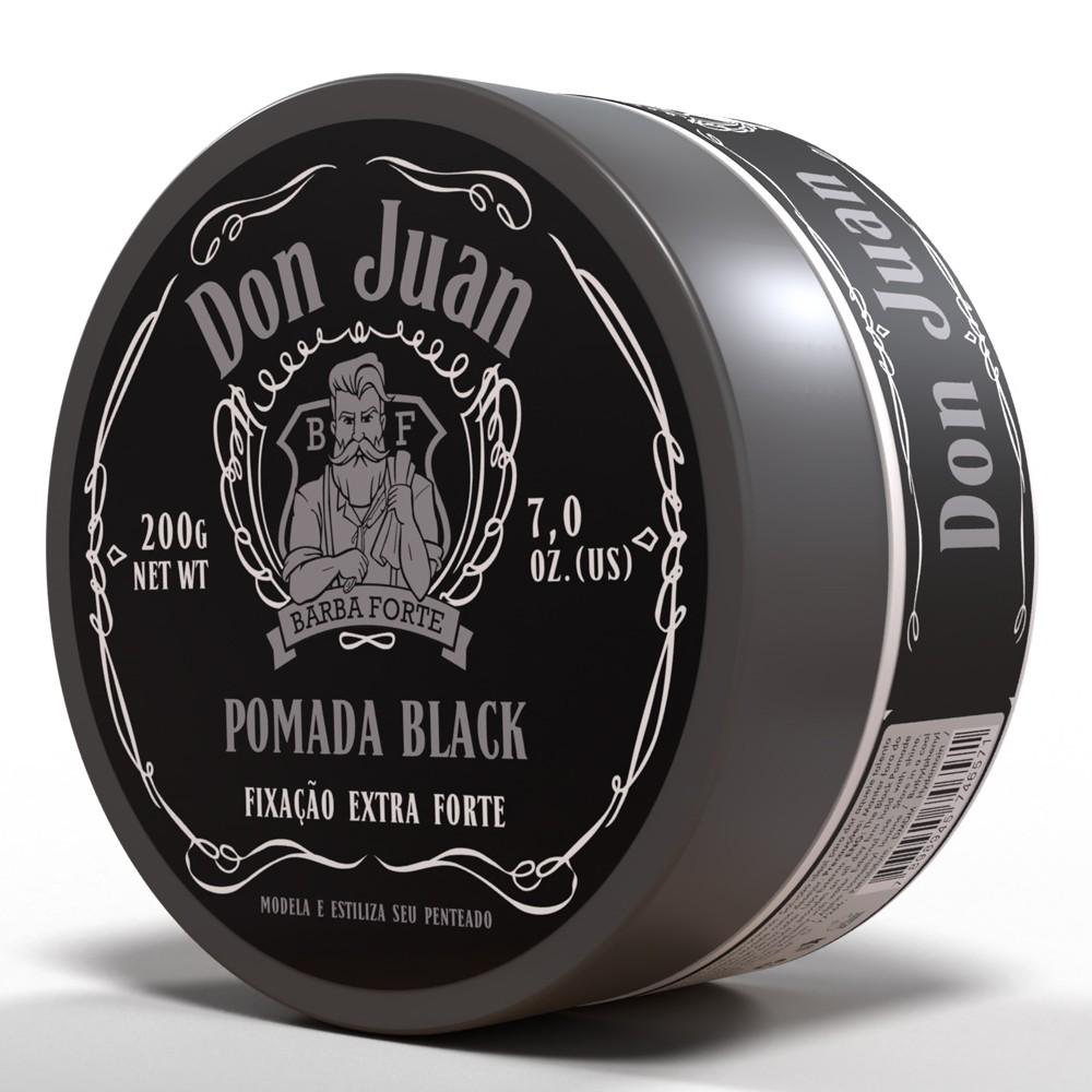 Pomada Black Don Juan Barba Forte 120g
