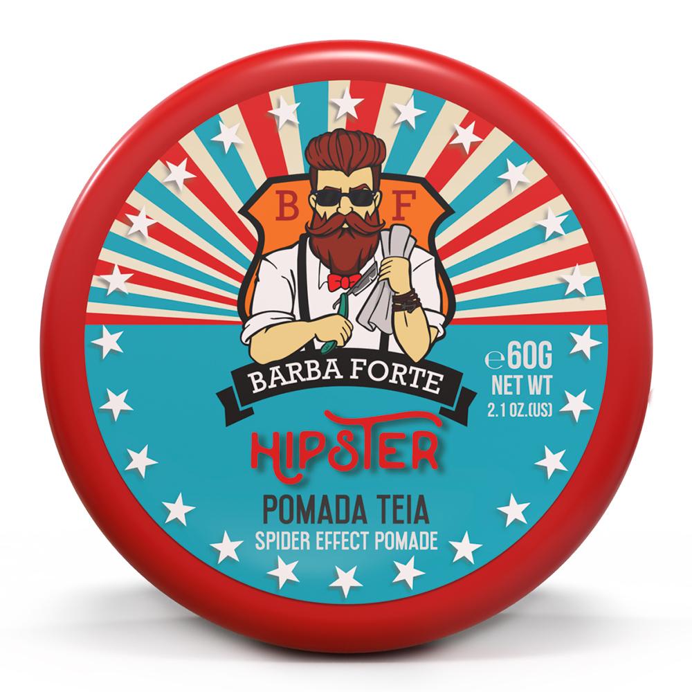 Pomada Efeito Teia Hipster Barba Forte 60g