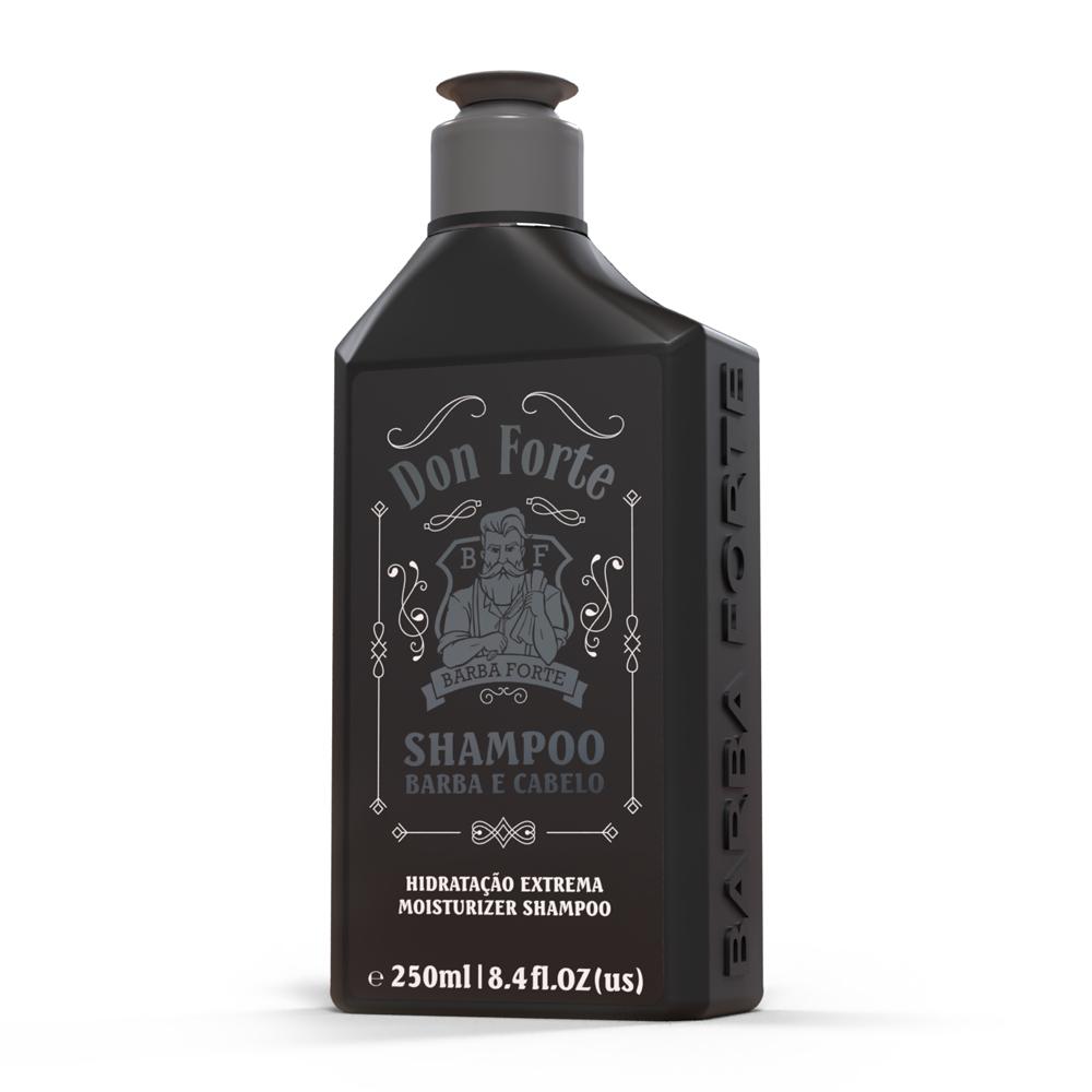 Shampoo Hidratação Extrema Don Forte Barba Forte 250ml