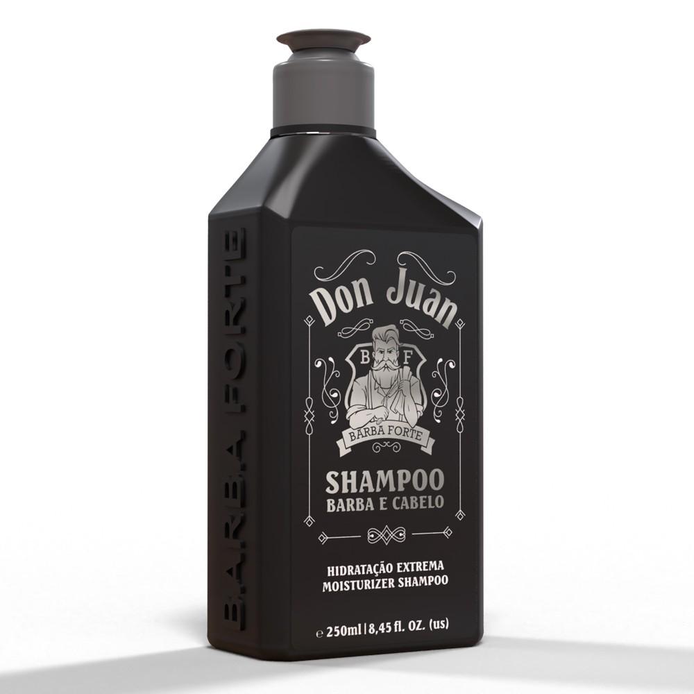 Shampoo Hidratação Extrema Don Juan Barba Forte 250ml