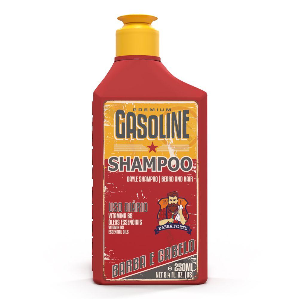 Shampoo Uso Diário Gasoline Barba Forte 250ml