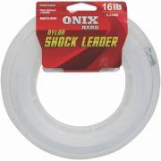 Linha Fastline Shock Leader Onix Hard 16 Lb - 50m