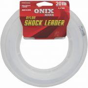 Linha Fastline Shock Leader Onix Hard 20 Lb - 50m