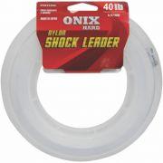 Linha Fastline Shock Leader Onix Hard 40 Lb - 50m