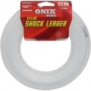 Linha Fastline Shock Leader Onix Hard 80 Lb - 50m