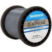 Linha Shimano Exage 0,255mm - 1000m