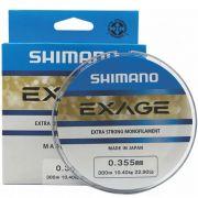 Linha Shimano Exage 0,355mm - 300m
