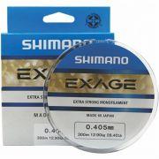 Linha Shimano Exage 0,405mm - 300m