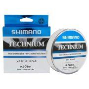 Linha Shimano Technium 0,305mm - 200m