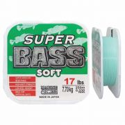 Linha Super Bass Soft 0,330 mm 17lb Monofilamento Verde 250m