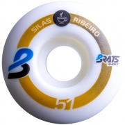 Roda Brats 51mm 101A Pro Model Silas Ribeiro