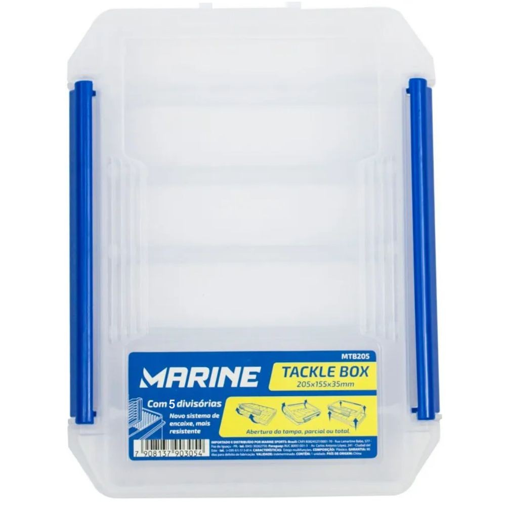 2 Estojo Marine Sports Para Iscas Artificiais Mtb255 e Mtb205