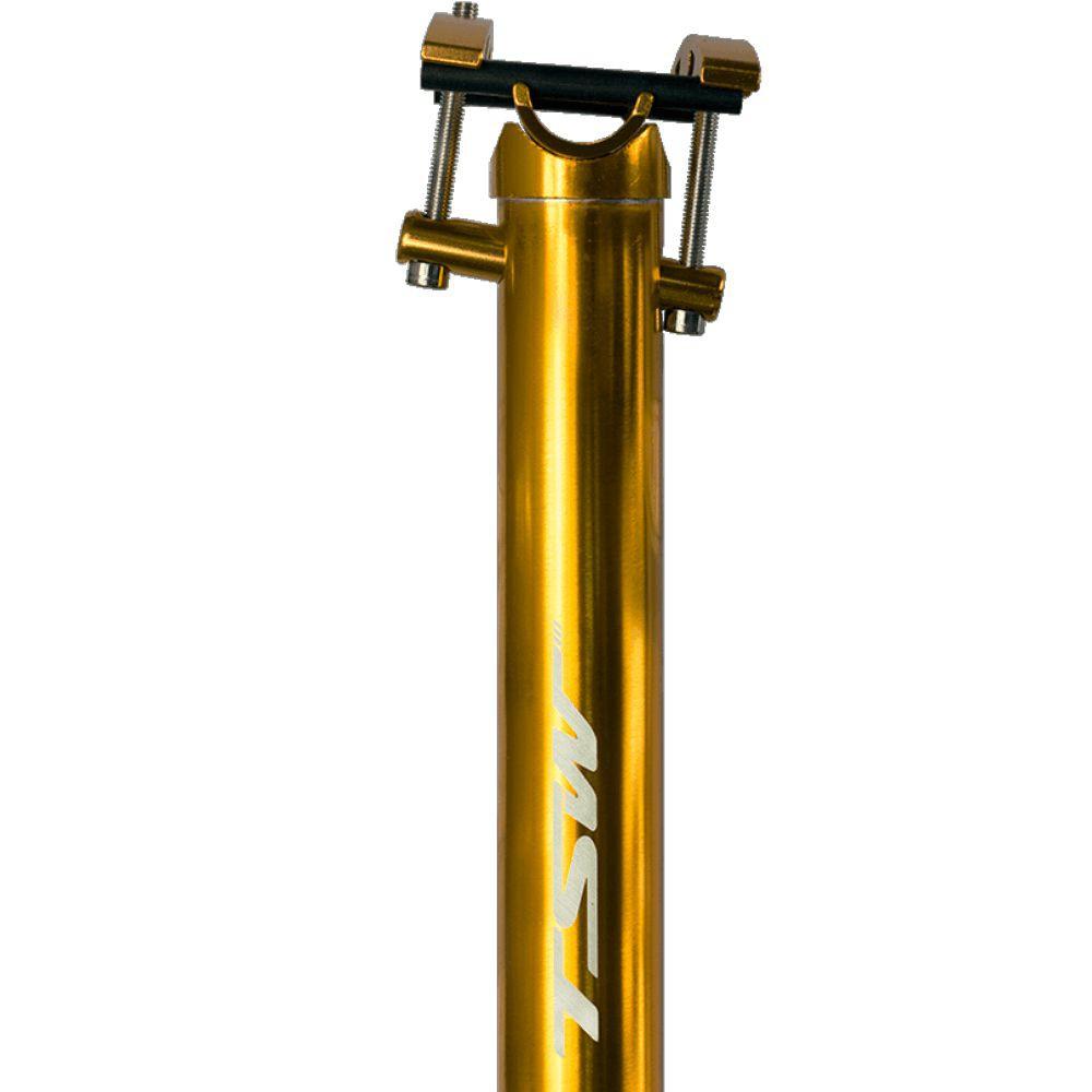 Canote TSW 31.6 Anodizado 400mm Dourado