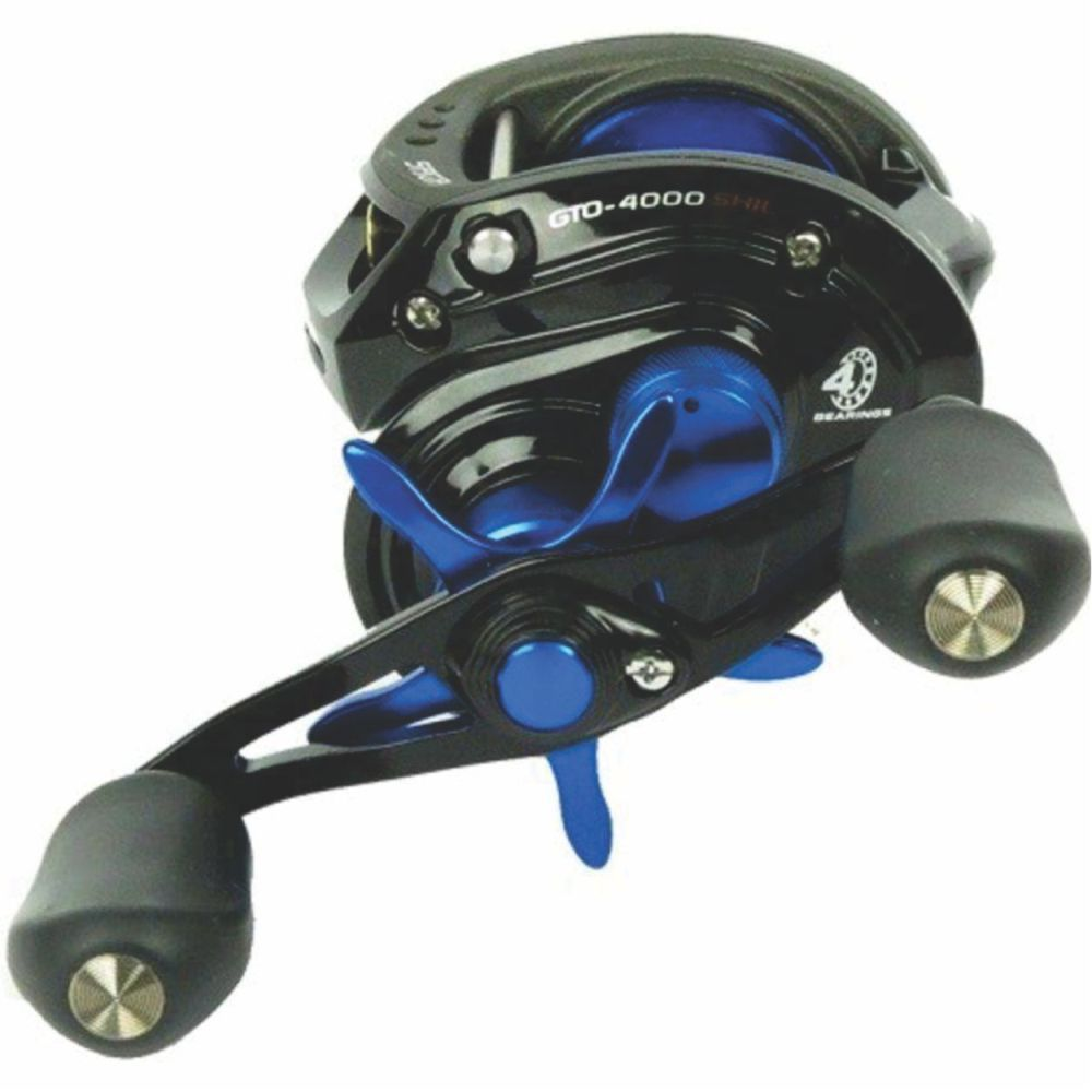 Carretilha Saga Gto 4000 Shil Marine Sports - Esquerda