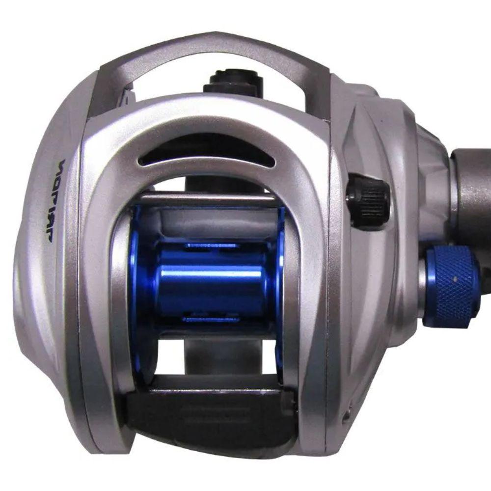 Carretilha Saint Plus Triton 11000H Direita Drag 5Kg - Azul