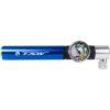 Mini Bomba de Ar TSW Com Manômetro Azul