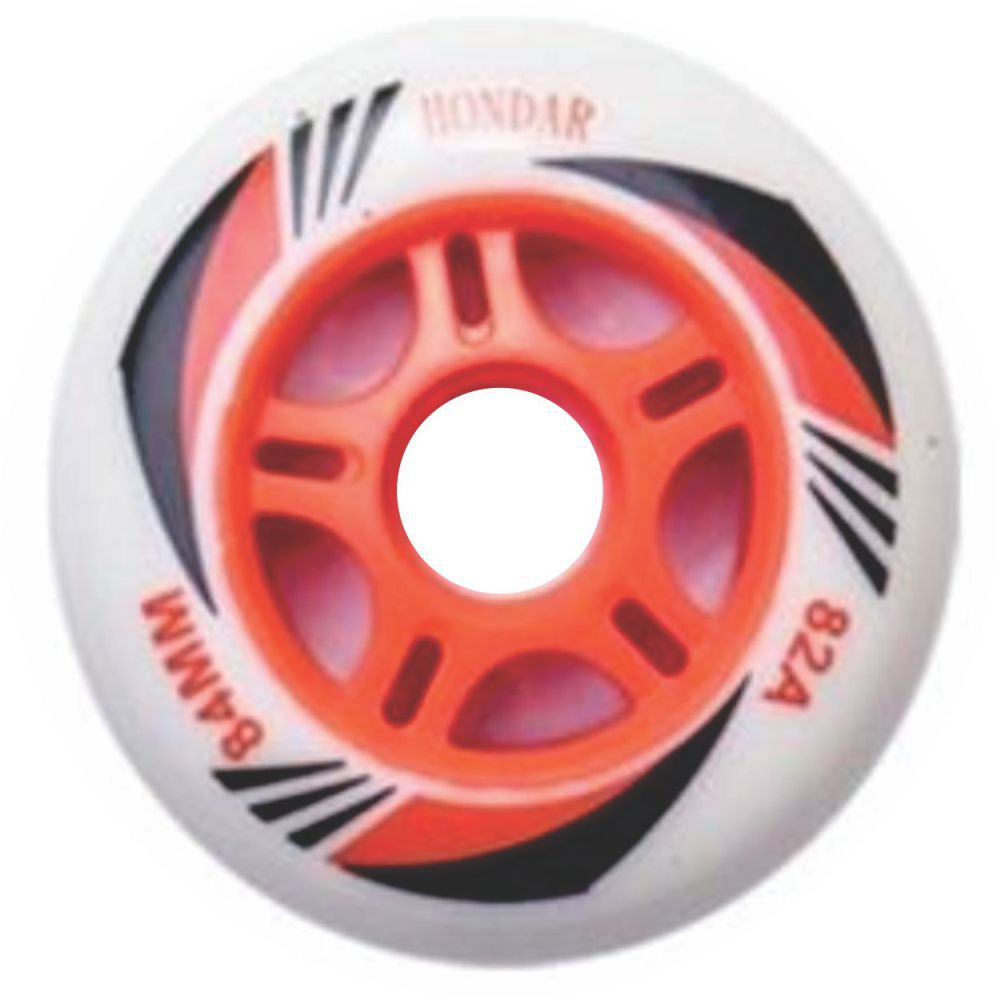 Kit 8 Roda Patins Roller Inline 84mm Hondar