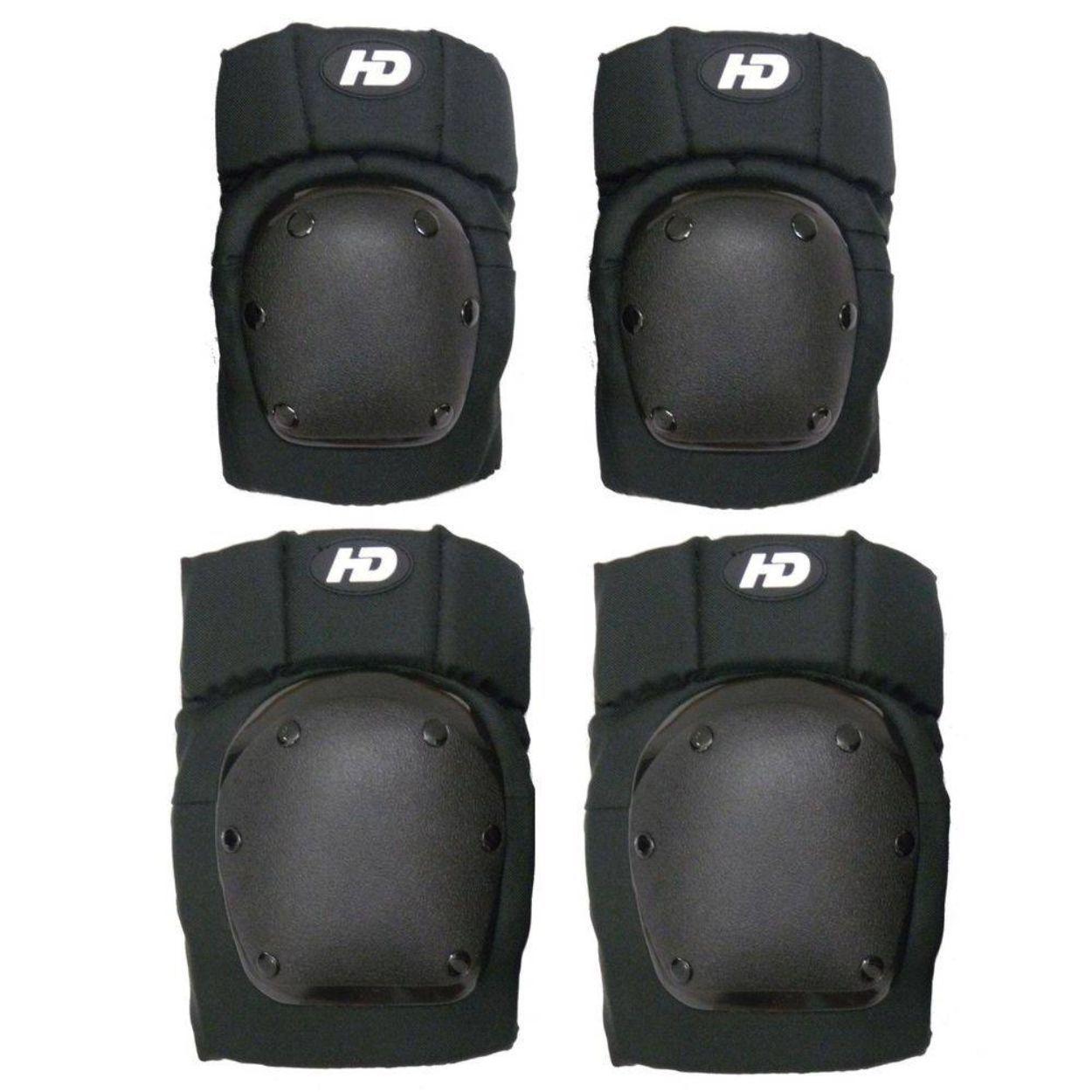 Kit de Proteção Hondar Para Skate e Patins