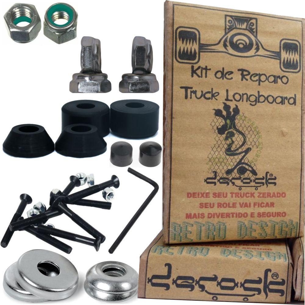 Kit de Reparo Derock Do Truck Longboard