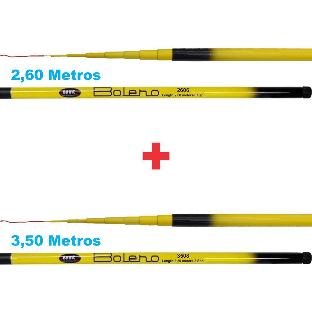Kit de Vara Telescópica Saint Bolero 2,60m e Bolero 3,50m