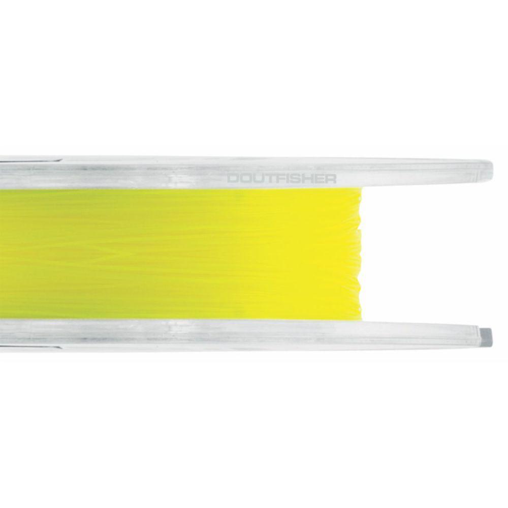 Linha Crown Fiber Soft Amarela 0,37mm - 27 lbs 250m