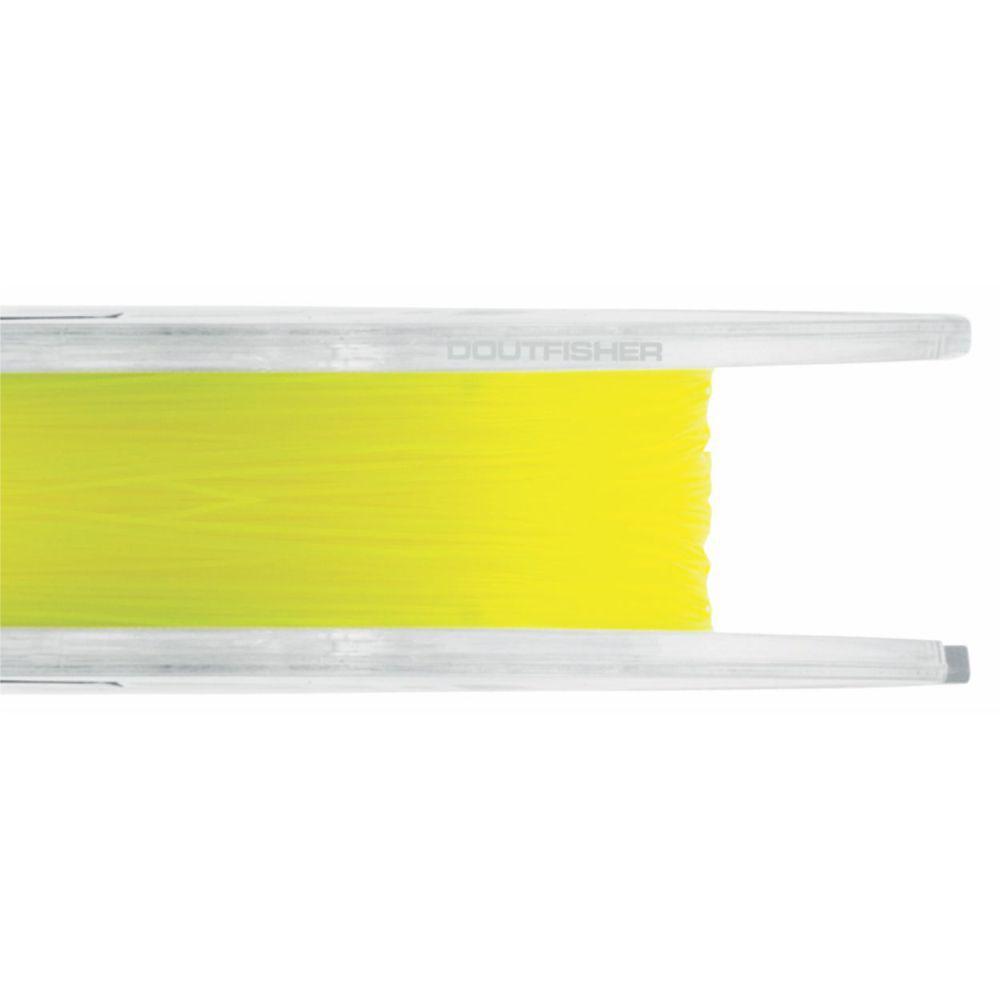 Linha Crown Fiber Soft Amarela 0,52mm - 52 lbs 250m
