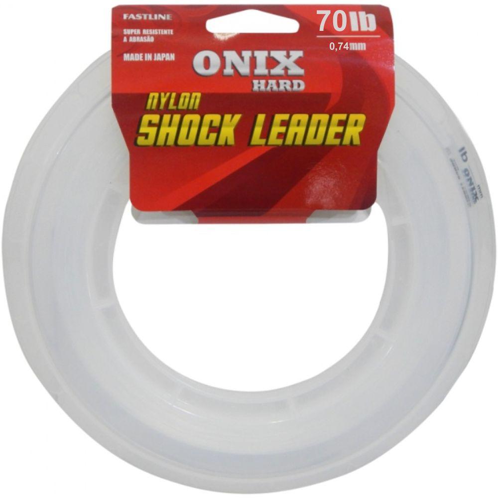 Linha Fastline Shock Leader Onix Hard 70 Lb - 50m
