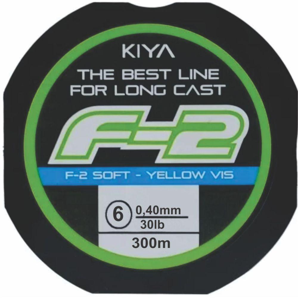 Linha Kiya F-2 0,40mm - 300M - Linha Monofilamento Soft