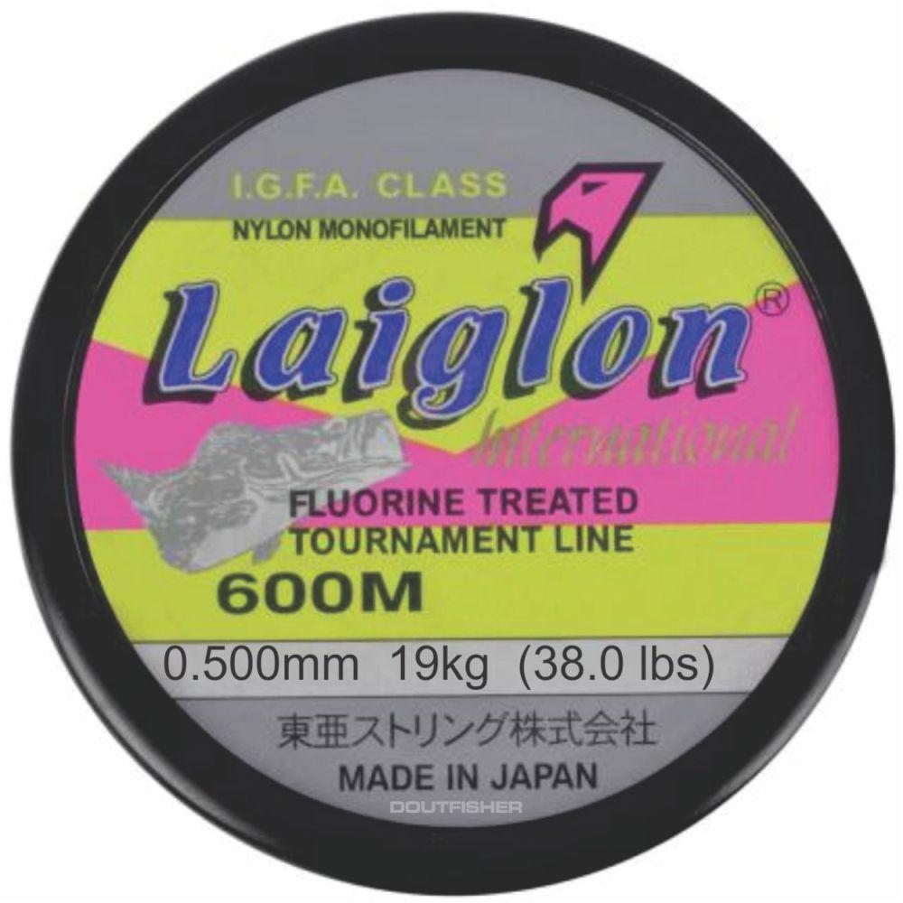 Linha Laiglon 0,500mm (38,0 Lbs - 19 kg) 600m - Amarela