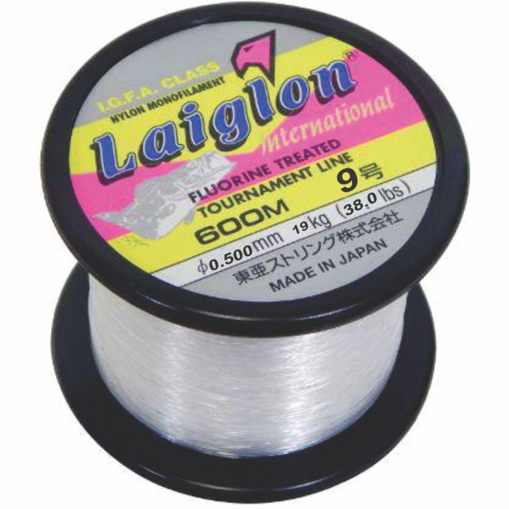 Linha Laiglon 0,500mm (38,0 Lbs - 19 kg) 600m - Branca