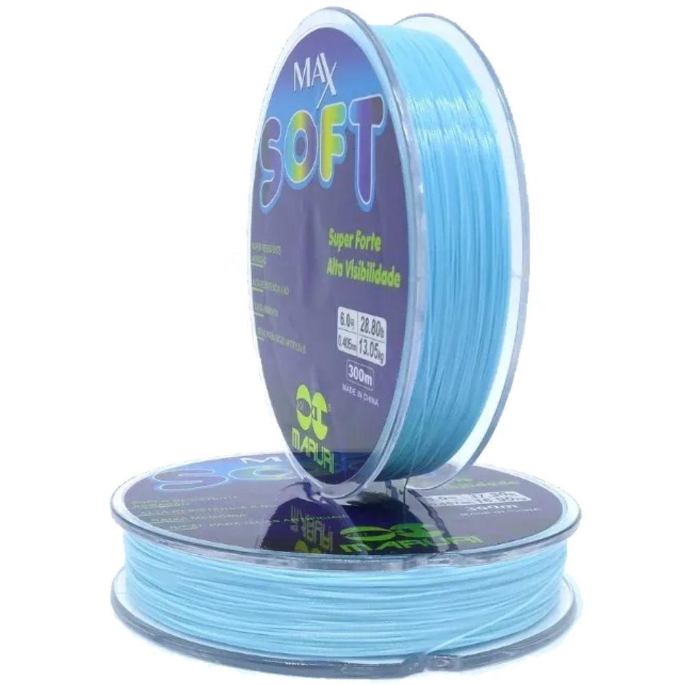 Linha Maruri Max Soft 0,523mm Azul - 300m