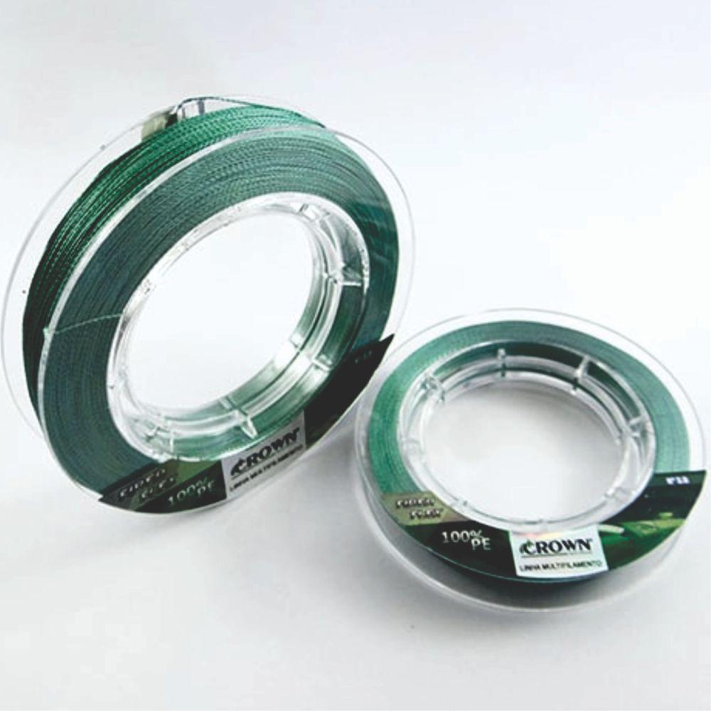 Linha Multifilamento Crown Fiber Flex 0,28mm - 100m